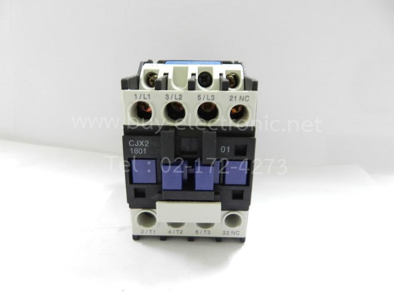 CJX2-1801 AC Contactor 18A 3 Phase 3-Pole NC 380V 50/60Hz Coil - สินค้าใหม่ ได้ของชัวร์