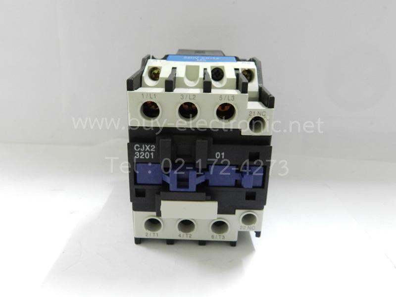CJX2-3201 32 Amp 3 Poles NC Notor Control Contactor Coil 220 Volts - สินค้าใหม่ ได้ของชัวร์