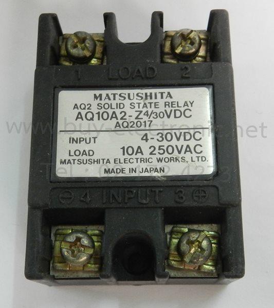 AQ10A2-Z4/30VDC,Matsushita, - สินค้าใหม่ ได้ของชัวร์