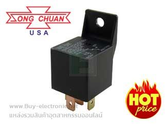 รหัส 896H-1CH-C1 12VDC,รายละเอียด Automotive Relays SPDT FLUX TIGHT FLANGED COVER, ยี่ห้อ SONG CHUAN