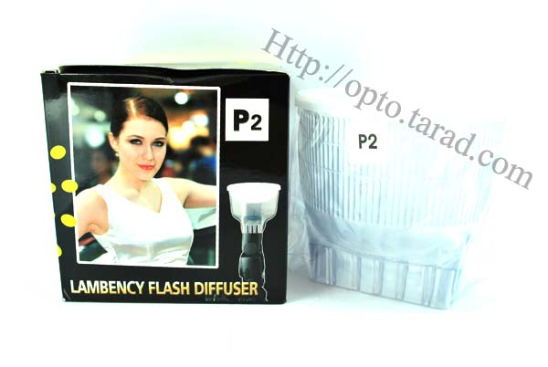 Lambency Clear Flash Diffuser with white Dome For 420EX/430EX(P2)