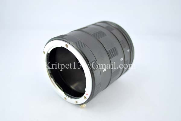 3 Ring Macro Extension Tube for Olympus Len