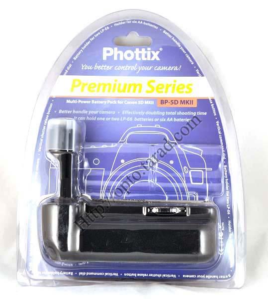 Phottix BP-5D MKII Grip for Canon 5D MkII BG-E6