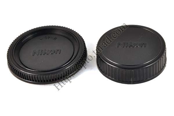 Body and Rear Lens Cap for Nikon ฝาปิดท้ายเลนส์และบอดี้