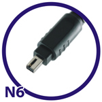 Extra cable N6 For Nikon D70s/D80