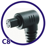 Extra cable C8 For� Canon 20D/30D/40D/5D
