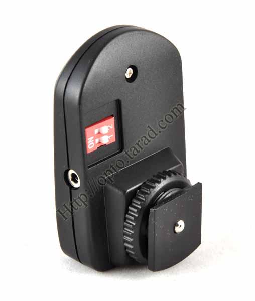 Wireless Flash Trigger PT-04NE set with Umbrella Holder 1 Receiver 4