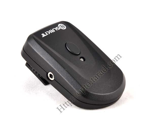 Wireless Flash Trigger PT-04NE set with Umbrella Holder 1 Receiver 3