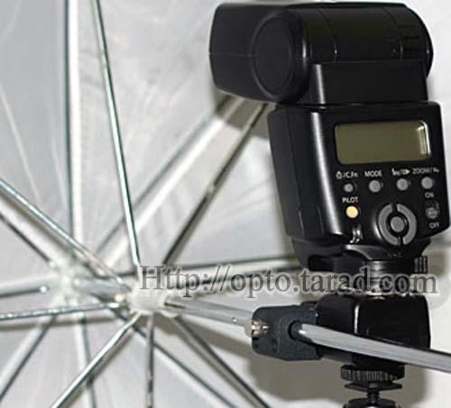 Wireless Flash Trigger PT-04NE set with Umbrella Holder 1 Receiver 5