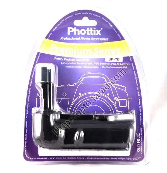 Phottix BP-7D Grip for Canon 7D BG-E7