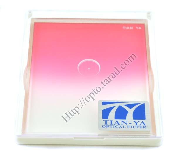 TianYa Gradual Pink Colour For Cokin P Series