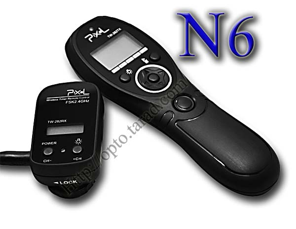 TW-282 Wireless Timer Remote N6 For Nikon D70s/D80