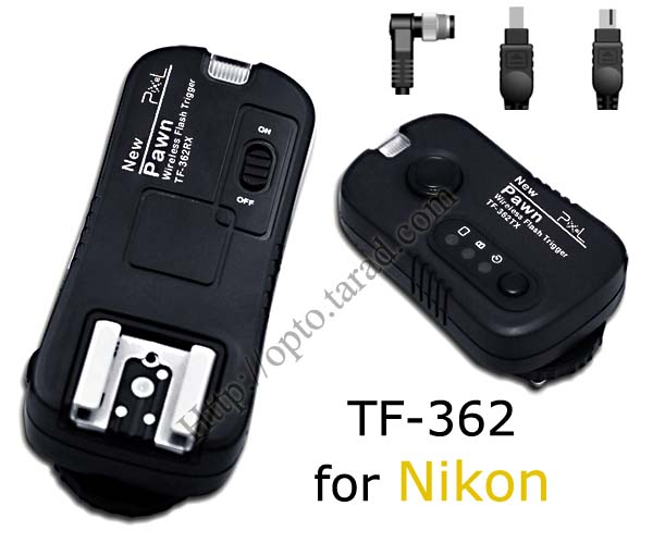 Pawn TF-362 Flash Trigger and Wireless Remote For Nikon N8 N6 N10