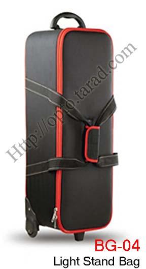 BG-04 Hard trolley bag for x3 mini studio flash