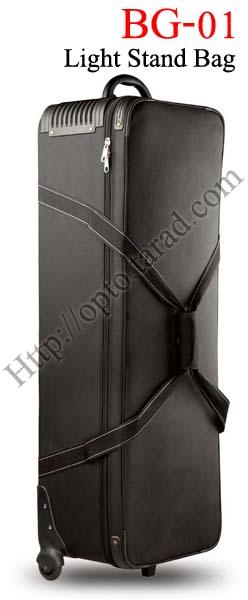 BG-01 Hard trolley bag for x3 Professional studio flash