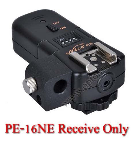 PE-16NE Flash Trigger For CANON Receive Only