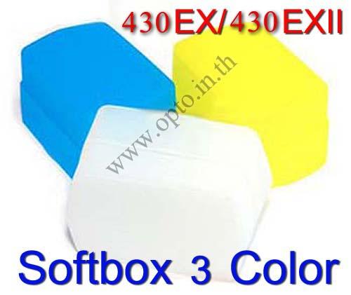 3 Color Bounce Flash Diffuser 430EX 430EXII