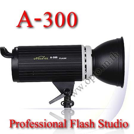 300Ws Studio Strobe Flash Light NiceFoto (A300)