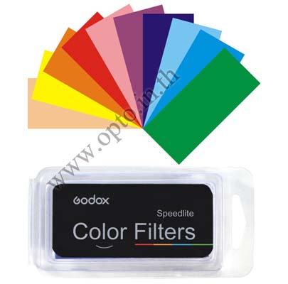 Gel Flash 7 Color x5 Filters for Speedlite