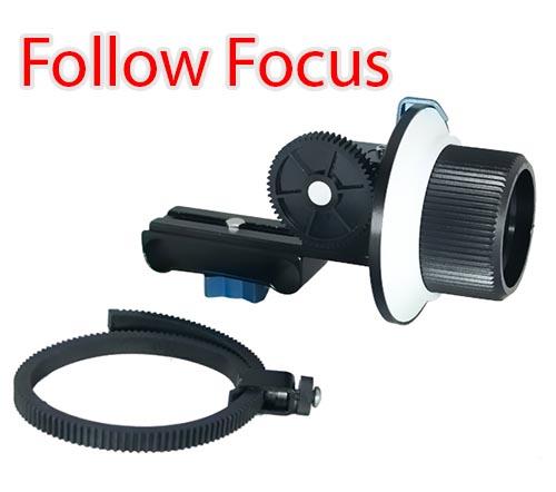 DSLR Follow Focus for Movie Video Bracket Kit