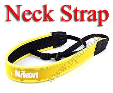 Nikon Yellow Neck Starp Neoprene for DSLR สายคล้องคอกล้องสำหรับนิค่อน