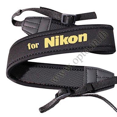 Nikon Black Neck Starp Neoprene for DSLR สายคล้องคอกล้อง