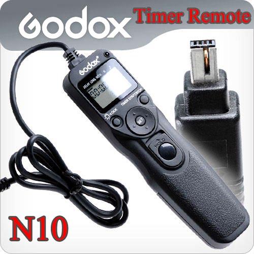 Godox Timer Remote Control MC-36 For Nikon N6 D70s/D80