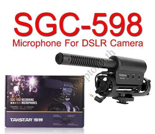 TAKSTAR SGC-598 Stereo Microphone For DSLR Camera  DV
