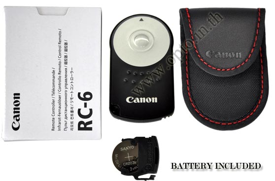 OEM RC-6 Canon IR Infrared Remote