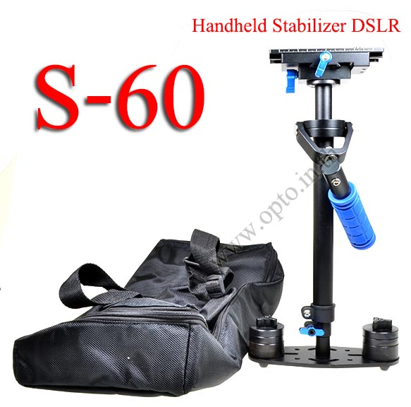 S-60 Handheld Stabilizer For Canon Nikon Sony 0.5-3.5KG Flycam Steadycam Steadicam Video Camera
