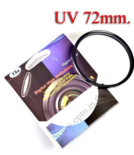 Digital Filter 72mm. UV Filter