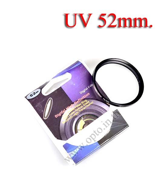 Digital Filter 52mm. UV Filter