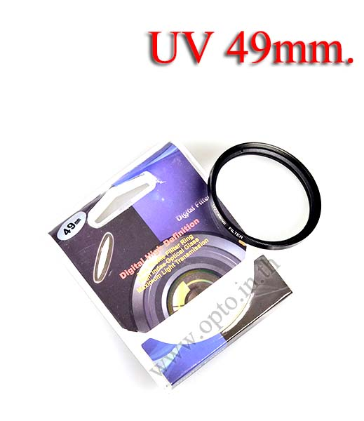 Digital Filter 49mm. UV Filter