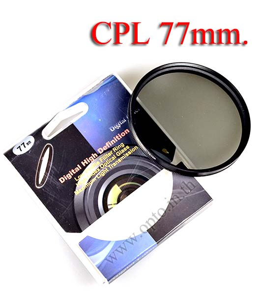 Digital Filter 77mm. CPL Circular Polarizing C-PL