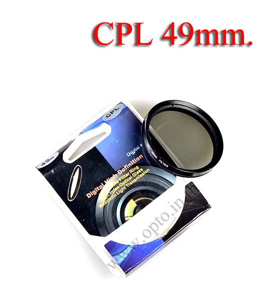 Digital Filter 49mm. CPL Circular Polarizing C-PL