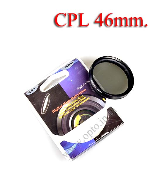Digital Filter 46mm. CPL Circular Polarizing C-PL