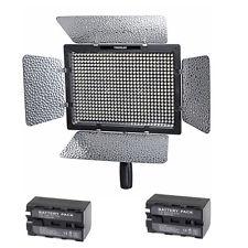 YN600 YongNuo LED Video Light+Battery NP-F770x2+ Charger ไฟต่อเนื่องสำหรับถ่ายภาพและวีดีโอ