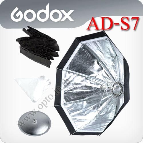 AD-S7/AD-S8 Multifunctional Softbox With Grid For Godox AD180 AD360 Flash