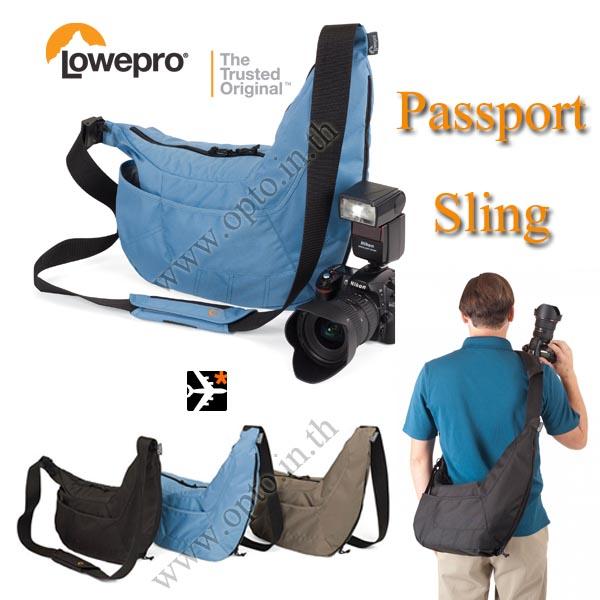 Lowepro Passport Sling กระเป๋ากล้องดีไซน์เก๋