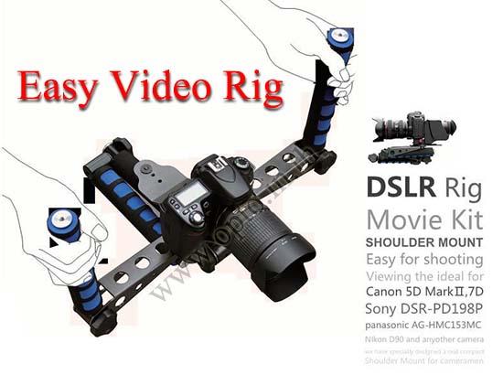 DSLR Rig Easy Shooting Movie Video Bracket