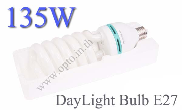 135W 5500k E27 Continuous Lighting Day light Bulb