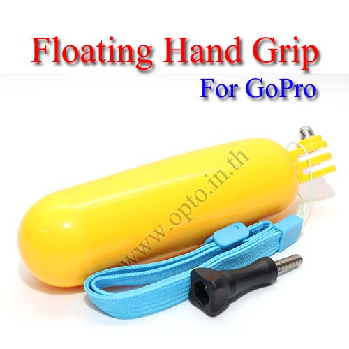 Floating Hand Grip Mount for GoPro Hero3+ 2 1 Accessories Camera มือจับแบบลอยน้ำได้สำหรับกล้องโกโปร