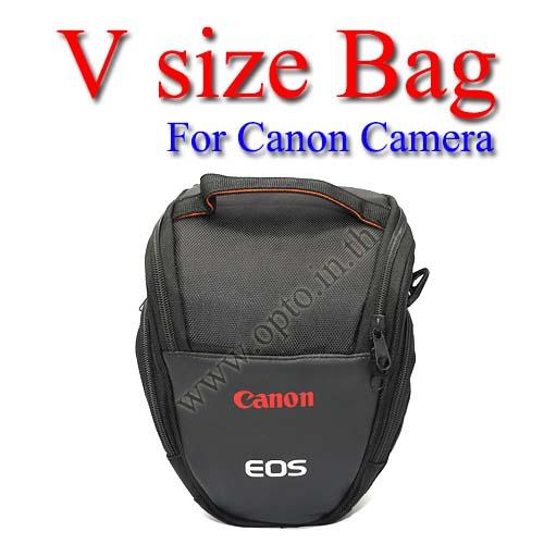 V-shape Size Bag For Canon 1200D 600D 700D 70D 5D 6D