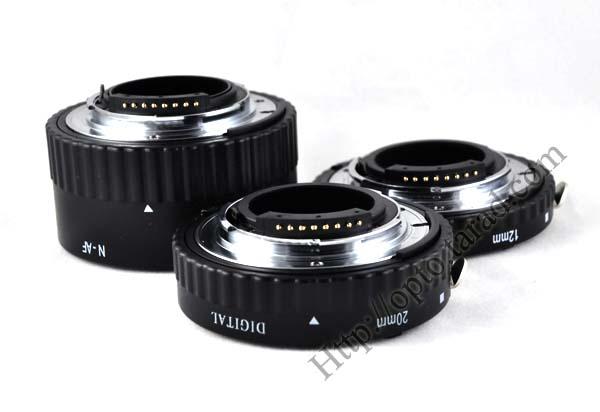 Nikon 3 Ring AF Macro Extension Tube (Auto-Focus) ท่อมาโครออโต้นิค่อน