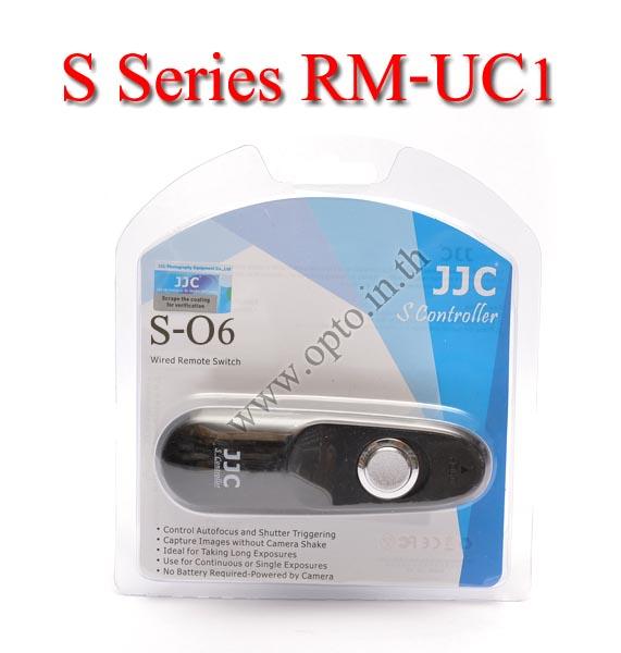 JJC S Series สายลั่นชัตเตอร์ รีโมท Wired Remote Control O6 For Olympus RM-UC1 E620 E-M5 E-P1 E-PL3