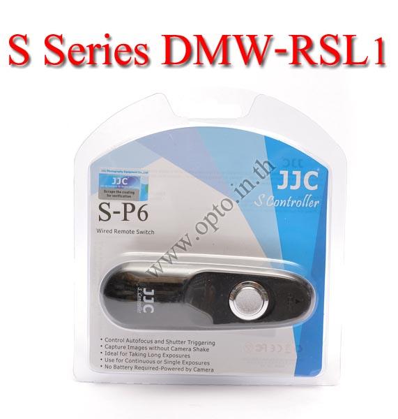 JJC S Series สายลั่นชัตเตอร์ รีโมท Wired Remote Control P6 For Panasonic DMW-RSL1 FZ150 GX1 GH2 G3