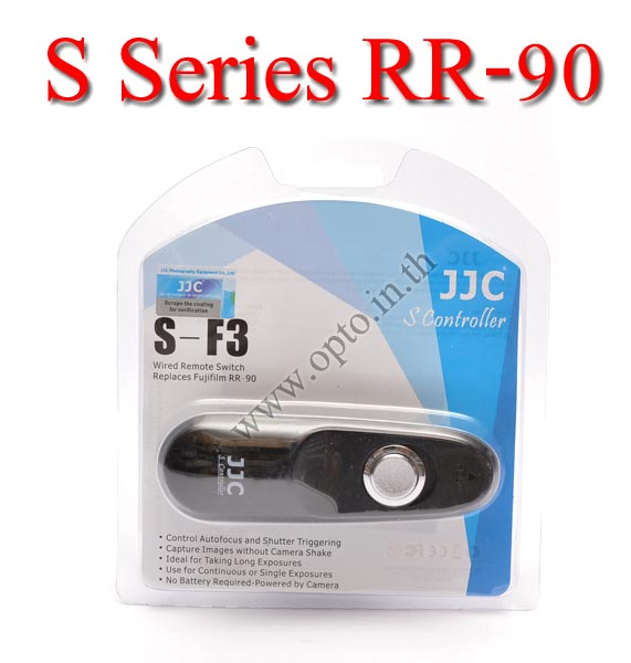 JJC S Series สายลั่นชัตเตอร์ รีโมท Wired Remote Control F3 For Fuji RR-90 X-A1 X-E2 X-M1 X-T1 X30