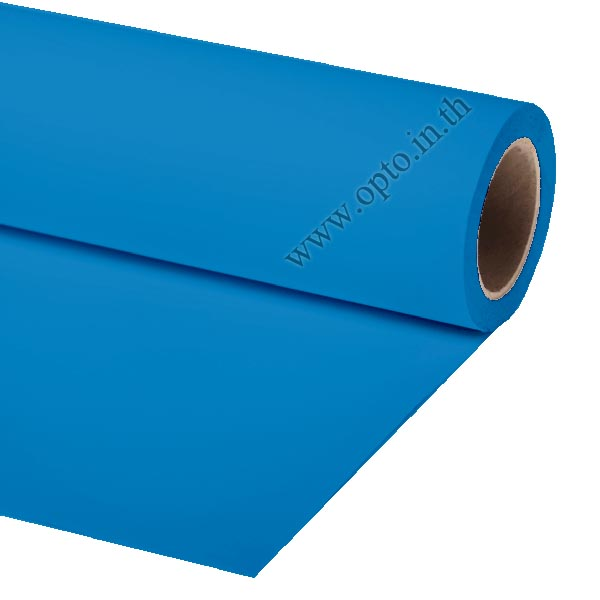 Blue Paper Background Backdrop 2.72x11m. for Chromakey ฉากกระดาษสีฟ้า Seamless Paper