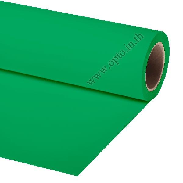 Green Paper Background Backdrop 2.72x11m. for Chromakey ฉากกระดาษสีเขียว Seamless Paper