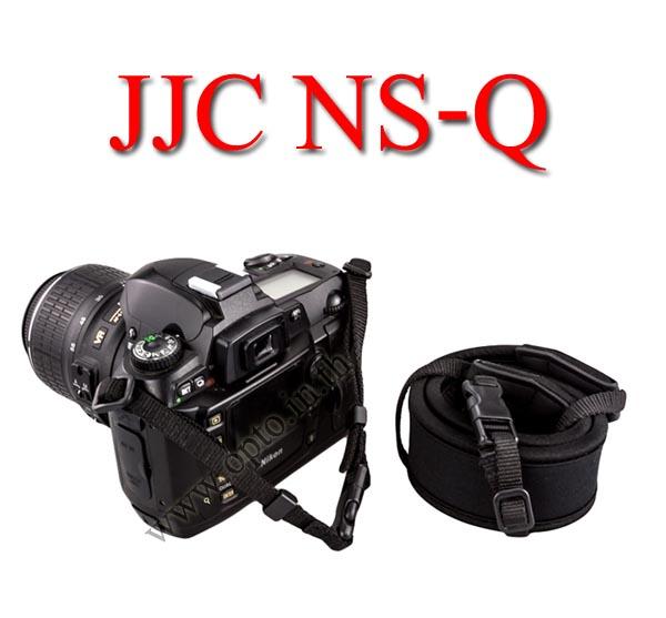 NS-Q JJC Joint Quick Starp Neck Strap for DSLR Neoprene black สายคล้องคอแบบมีคลิ๊ปล็อคถอดสายได้